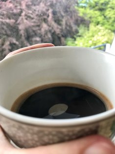 Coffee in the morning...