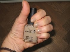 Mein CND Vinylux Silvester-Outfit - Nude Ton