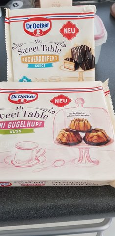 """Mein erstes Mal """"My sweet table"""""""
