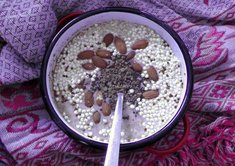 Porridge mit Chill Out Topping