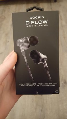 DFlow In-Ear Headphones