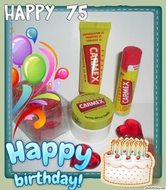 HAPPY BIRTHDAY CARMEX
