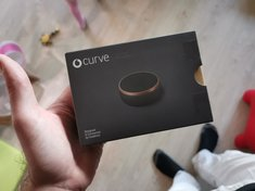 First try unboxing curve smart tracker