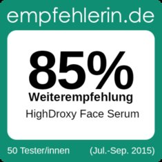 HighDroxy Face Serum - Abschluss