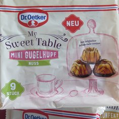 "My Sweet Table "" Mini Gugelhupf """